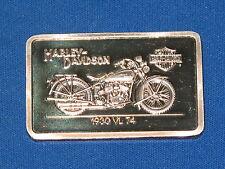 1930 VL 74 Harley Davidson Silver Art Bar B5750