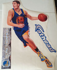 """Klay Thompson Fathead Official 28"""" Player Graphic w/ Name Sign Warriors #11"""
