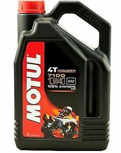 Huile MOTUL 4L 7100 10W40 4t moto scooter quad Factory Line Road livré a domicil