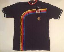 "NWT NEW Authentic RINGSPUN ""murky""  Rainbow Cotton Short-Sleeve T-Shirt M Medium"