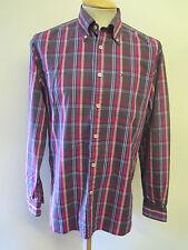 "Genuine Tommy Hilfiger Check Shirt - M 38-40"" Euro 48-50 - Purples"