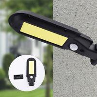 100 Lampe Solaire LED avec Détecteur de Mouvement Extérieur Projecteur
