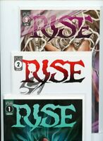 Rise #1, #2, #3, #4, and #5 Scout Comics Lot of 5 books