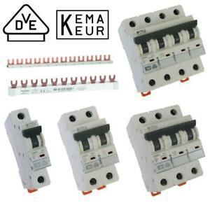 FI Schutzschalter 25A 40A Leitungsschutzschalter Automaten Kammschiene B16 10 25