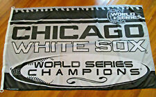 """Chicago White Sox MLB 2005 World Champions Large Outdoor Flag 59"""" X 35"""""""