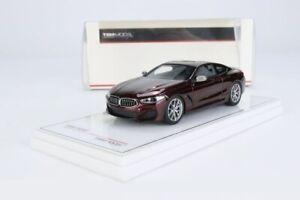 BMW M850I Aventurine Rouge Métallisé - Vrai Echelle Miniatures TSM430454 1/43
