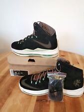 Nike Lebron X 10 Black Suede/Mint UK11/US12 607078-001 Excellent Condition w Box