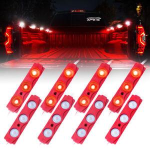 8 Pods LED Rock Lights Kit Underglow Car Truck Bed Lighting Neon Light Strips