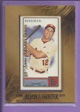 *2015 Allen & Ginter's 10th Anniversary mini LANCE BERKMAN no.338 cardinals