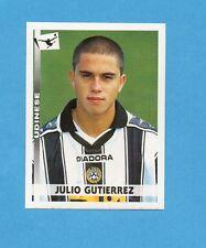 PANINI CALCIATORI 2000/2001- Figurina n.383- GUTIERREZ - UDINESE -NEW