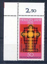 Bund Mi-Nr 834  Ecke 1  (50) -Heiliges Jahr- ** Postfrisch 1975