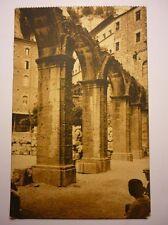 Antique Spanish Postcard Monserrat Claustro Romano