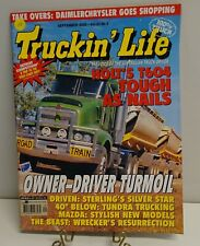 TRUCKIN LIFE MAGAZINE RIG OF MONTH POSTER 2000 VOL.23 NO.9