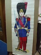 rare affiche pellerin épinal son altesse prince impérial grenadier napoléon III