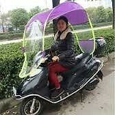 Scooter / Bike Umbrella all seasons polyester rainy summer For all 2 Wheeler