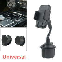 360° Adjustable Car SUV Cup Holder Stand Cradle Mount For Cell Phone GPS Support