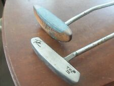 ** Vintage Pair 2 Putters Golf Clubs Taylor Made TPA VIII & Roho 3 ** L@@K!