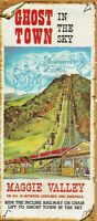 Vintage Travel Brochure Ghost Town in the Sky Maggie Valley North Carolina