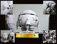 Film 2001: A Space Odyssey Aries 1B Moon Bus Shuttle Handcraft Paper Model Kit