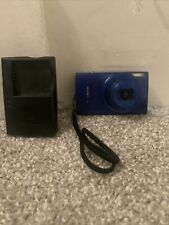 Canon PowerShot ELPH 190 IS 20.0 MP Digital Camera - Blue