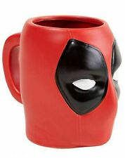 Marvel Deadpool Face 3D Mug