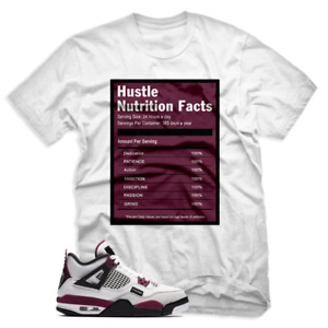 Hustle Facts T shirt to match Jordan 4 Retro PSG Paris Saint-Germain Unisex Tees