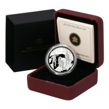 Canada War of 1812 Building Unity Seeds of a Nation $1 2012 Proof Silver Crown B