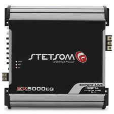 Stetsom EX5000EQ-1-Ohm Mono Amp High Power Car Audio Amplifier 5600W RMS