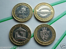 4 RARE TWO POUND COIN £2 COIN HUNT  2013 2014