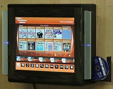 Digital Touchscreen Jukebox with Speakers & Built-in Cd rip