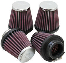 K&N Universal Oval Chrome Clamp-On Air Filter