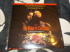 Like Water For Chocolate Letterbox Laserdisc LD Free Ship $30 Orders