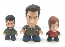 Boy Baby 3x Gift Toy The Last Of Us Titans Vinyl Figures Joel Ellie Nathan Drake