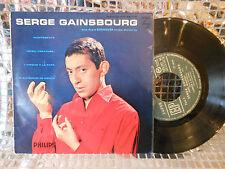 SERGE GAINSBOURG claqueur de doigts ORIG EP 3E SERIE EXC