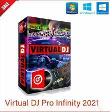 Virtual DJ Pro  2021infinity  [ illimitato  Windows 8-10] ''leggere sotto''
