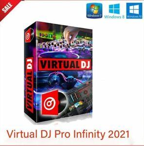 Virtual DJ Pro  2021versione total free [ Windows 7-8-10 ] ''leggere sotto''
