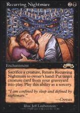 1x Recurring Nightmare Light Play, English Exodus MTG Magic