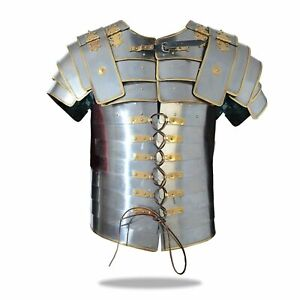 Medieval Lorica Segmentata Armor Roman Soldier Military Armor Plate, One Size