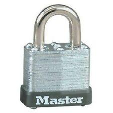 Master Lock 105D Wide Warded Padlock, 1-1/8-inch, Steel