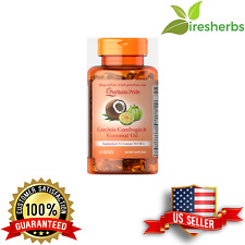 GARCINIA CAMBOGIA & COCONUT OIL MCT 2200MG WEIGHT LOSS DIET PILLS 60 SOFTGELS