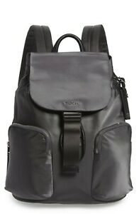 Brand New with Tags Tumi Rivas Nylon Backpack $445 IRON Original Packaging