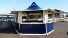 Verkaufsstand Schwenker Grill Getränkestand Zelt Marktstand 10,5 m² 6eckig