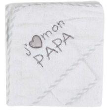 NISSANOU Sortie de bain bébé ensemble Cape avec gant idee cadeau naissance BCJP