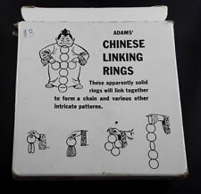 Adams Chinese Linking Rings