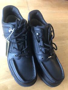 Rockport XCS Men's Black Waterproof Leather Boots Hydro-Shield Men's Size 9