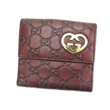 Auth GUCCI W Hook Wallet GUCCI Shima Women''s used C1910