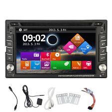 2 DIN AUTORADIO RADIO DE COCHE GPS Navigazione CON BLUETOOTH PANTALLA TÁCTIL DVD
