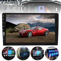 """9 """"simple 1din voiture autoradio stéréo lecteur MP5 GPS SAT NAV AUX Bluetooth G"""