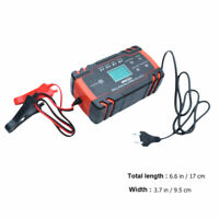 Intelligentes Batterieladegerät 12V/24V Vollautomatisches Ladegerät Batterie 8A★