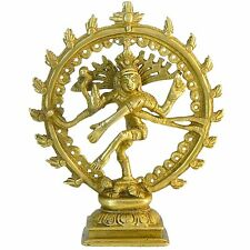 Nataraja Messing Figur 11cm Tanzender Shiva Hinduismus Indische Gottheit Deko